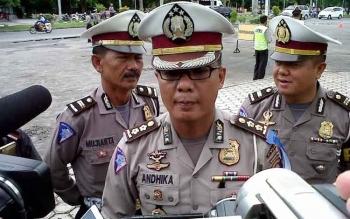 Kabag Bin Ops Direktorat Lalu Lintas Polda Kalteng AKBP Andhika Wiratama
