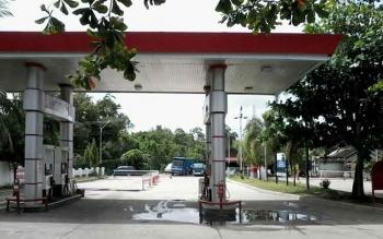 SPBU Lunuk Ramba Kasongan di Jalan Tjilik Riwut Km 1 Kasongan ini sejak sebulan terakhir hanya menyediakan BBM jenis pertalit dan pertamax saja
