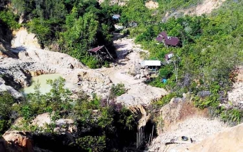 Kawasan Gunung Mas yang berada di wilayah Desa Sumur Mas, Kecamatan Tewah, Kabupaten Gunung Mas.