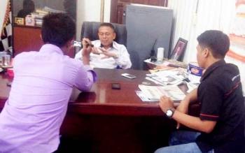 Kepala Dinas Tenaga Kerja dan Transmigrasi Kabupaten Murung Raya, Syahrial Pasaribu saat dikonfirmasi wartawan, Rabu (22/3/2017).