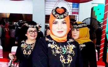 Anggota DPRD Kapuas, Noni Ermirawati.