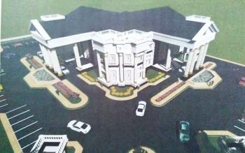 Design rumah jabatan Bupati Barito Utara yang baru