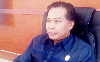 Ketua DPRD Kapuas, Algrin Gasan.
