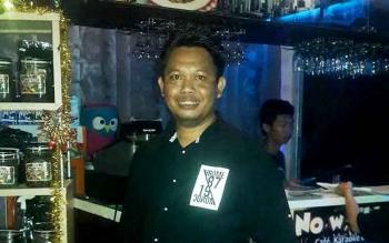 Alfriyano alias Yano, pemilik Nowella Kasongan.