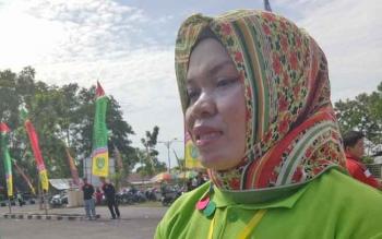 Kepala Disporapar Sukamara, Fatimatul Darfi.