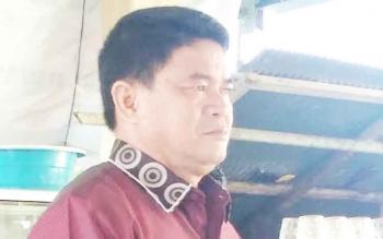 Kepala Dinas PMD Kabupaten Gunung Mas, Yulius Agau.