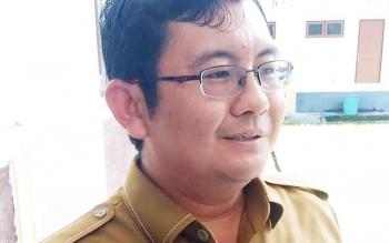 Kepala Bidang Perencanaan dan Penganggaran BP3D Kabupaten Gunung Mas, Aprianto.