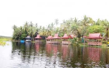 Danau Malawen sekarang menjadi Objek Wisata Sanggu