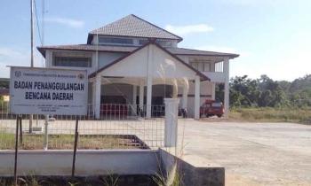 Kantor BPBD Kabupaten Murung Raya.