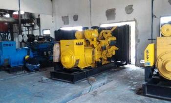Tiga mesin diesel sewa PT Kaltimex yang telah berhasil dipasang di PLTD Pangkalan Bun
