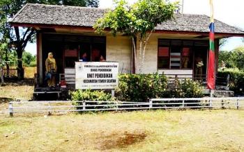 Kantor UPTD Kecamatan Teweh Selatan.