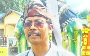 I Wayan Suharna, Ketua Panitia Kesanga dan Ogoh-Ogoh