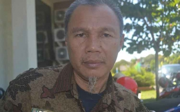 Kepala Dinas Perdagangan Koperasi dan UMKM Kabupaten Katingan, Saptul Anwar.