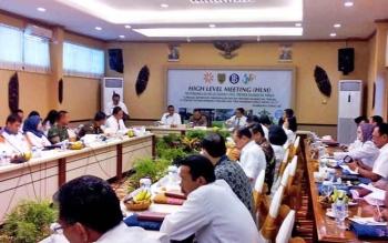 Tren Kenaikan Harga Energi 2017 Juga Jadi Topik Bahasan High Level Meeting BI Kalteng