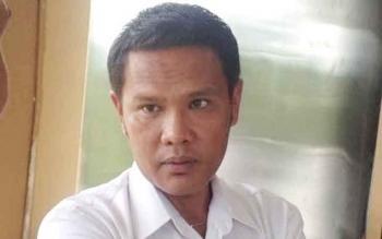 Sekretaris Dinas Kesehatan Kabupaten Mura, Suwirman Hutagalung.