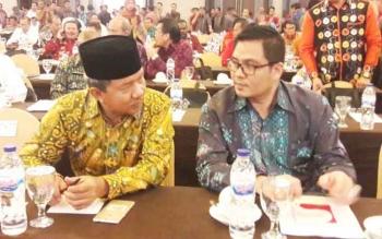 HM Riban Satia, Wali Kota Palangka Raya mengikuti Workshop Pemantapan Pemeriksaan Dan Entry Meeting Pemeriksaan LKPD Tahun Anggaran 2016 Perwakilan BPK RI Wilayah Timur yang dilaksanakan di Grand Clarion Hotel dan Convention Makassar 29-30 Maret 2017