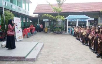 Salah satu Sekolah Dasar Negeri (SDN) di Kotawaringin Timur.