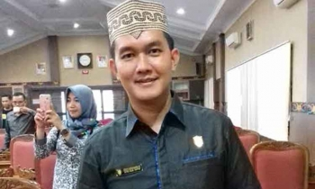 Sekretaris Komisi III DPRD Kotim, Hero Harapano Mandouw