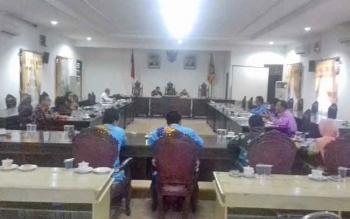 Rapat Dengar Pendapat (RDP) Kabupaten pemekaran Kotawaringin Utara (Kotara) di DPRD Kotim, Kamis (30/3/2017).