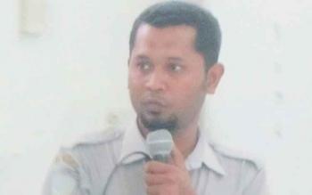 Kasi Data dan Informasi BMKG Palangka Raya Anton Budiyono