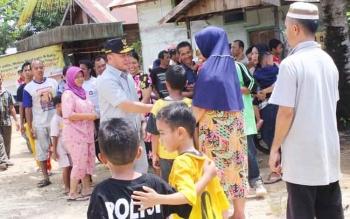 Gubernur Sugianto Sabran saat mengunjungi Ampah, Barito Timur belum lama ini. Catatan Pemprov Kalteng, Angka Harapan Hidup di Kalteng terus meningkat dalam tiga tahun terakakhir