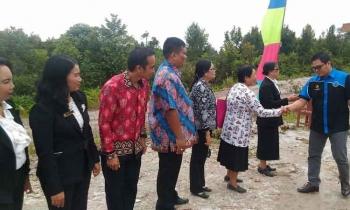 Wakil Bupati Gunung Mas Hadiri Peringatan Hari Jadi SMPN 6 Kurun