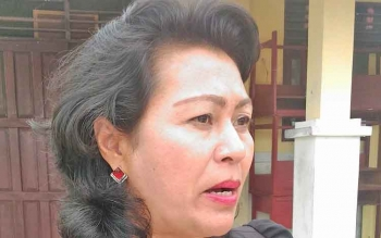 Anggota DPRD Kabupaten Gunung Mas Rayaniatie Djangakan.