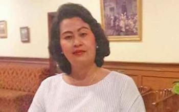 Anggota DPRD Gunung Mas, Pendeta Rayaniatie Djangkan.