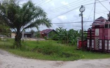 Tanah Disdik di Jalan Jenderal Sudirman Km 7 Sampit yang diminta hakim untuk mengosongkan karena kalah dalam gugatan.