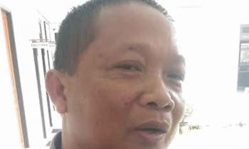 Anggota DPRD kabupaten Gunung Mas, Iswan B Gunas.