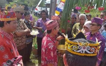 Komisi A DPRD Provinsi Kalteng didampingi anggota DPRD Kabupaten Kapuas Dapil IV meninjau persiapan pembentukan Kapuas Ngaju, beberapa waktu lalu.