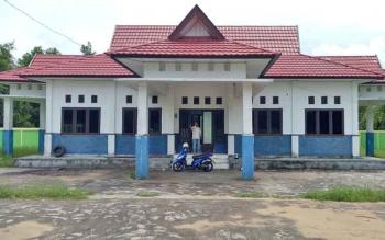Inilah bangunan kantor PWI Seruyan yang sempat ditempati selama enam tahun terakhir ini.