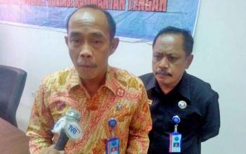 Kepala BNNP Kalteng Brigjen Triwarno Atmojo didampingi Kepala BNN Kota Palangka Raya M Soedja