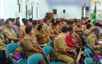 Para aparatur desa yang ada di Kabupaten Pulang Pisau.