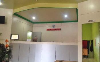 Suasana tempat pelayanan di kantor Dukcapil Murung Raya, Rabu (5/4/2017)