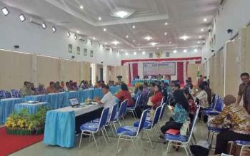 Kegiatan Rakor Sekda se Kalimantan Tengah yang digelar di Kabupaten Sukamara beberapa waktu lalu.