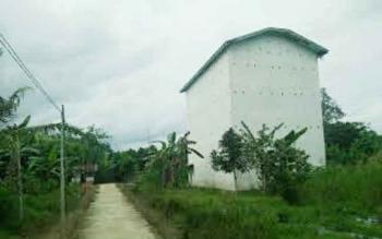 Gedung walet milik Mario warga Desa Subur Indah Kecamatan Katingan Kuala yang dibobol maling.