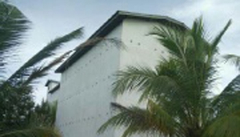 Gedung walet di Kelurahan Pegatan Hulu, Kecamatan Katingan Kuala, Kabupaten Katingan, yang dibobol maling.