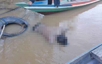 Pedagang pakaian Keliling tewas tenggelam di Sungai Barito, Kabupaten Barito Selatan.