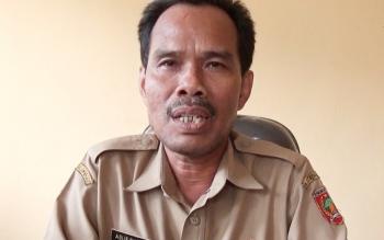 Kepala Dinas Kependudukan dan Pencatatan Sipil Kotawaringin Barat, Agus Suparji,