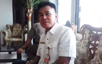 Direktur PDAM Dharma Tirta Sampit, Firdaus Herman Ranggan.