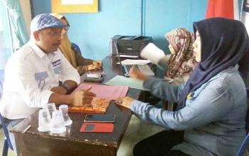 Ketua DPC Partai Demokrat Katingan, Karyadi resmi mendaftar ke Partai Nasdem sebagai calon bupati pada pilkada Katingan 2018 mendatang, Selasa (11/4/2017).