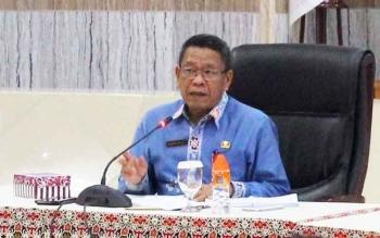 Penjabat Sekda Kalteng Sahrin Daulay
