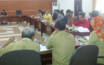 DPRD Kapuas gelar rapat dengar pendapat.