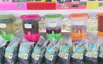 Inilah pestisida herbal yang terbuat dari berbagai ekstrak tanaman yang dikembangkan P4S Karya Baru Mandiri, Desa Kubu.
