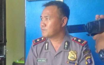 Ketua Tim Saber Pungli Kabupaten Mura, Kompol Zepni Azka.