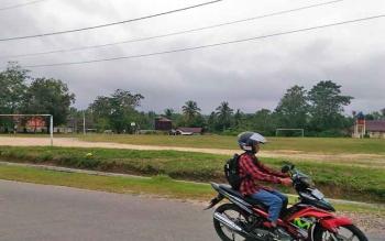 Lapangan Isen Mulang Kuala Kurun di Kabupayen Gunung Mas