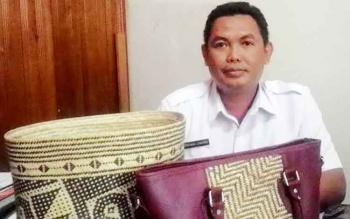 Kepala Bidang Industri Dinas Perindustrian Perdagangan dan Koperasi UMKM Kabupaten Kapuas, Ferdinan Junarko