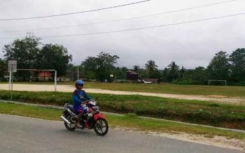 Lapangan Isen Mulang di Kuala Kurun, Kabupaten Gunung Mas.