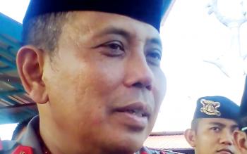 Kapolda Kalteng, Brigjen Pol Anang Revandoko Saat diwawancarai Awak Media, Kamis (13/4/2017)
